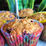 These Plum Oat Muffins are easy to make and they are great for breakfast or as a snack! thelinkssite.com