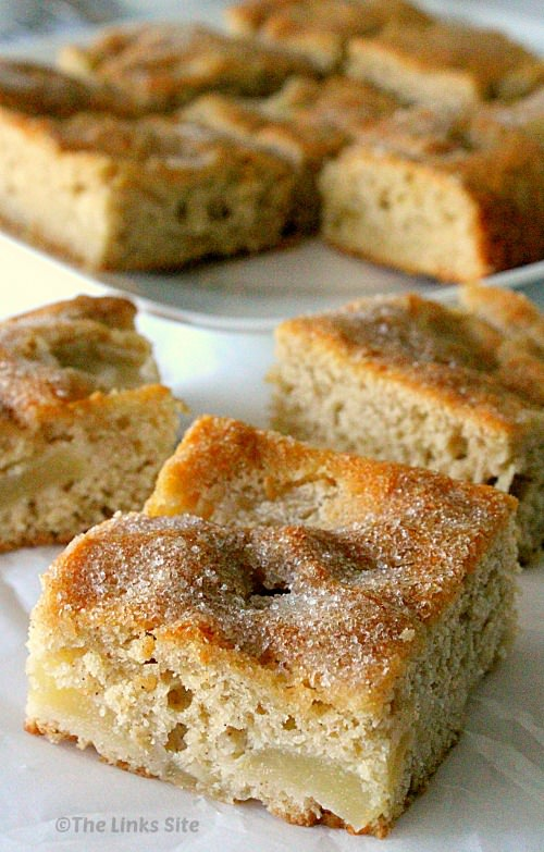 Use fresh or tinned apples to make this delicious cake that is great as a snack cake or as a dessert! thelinkssite.com